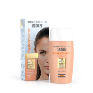 Fotoprotector ISDIN Fusion Water COLOR SPF 50.Isdin