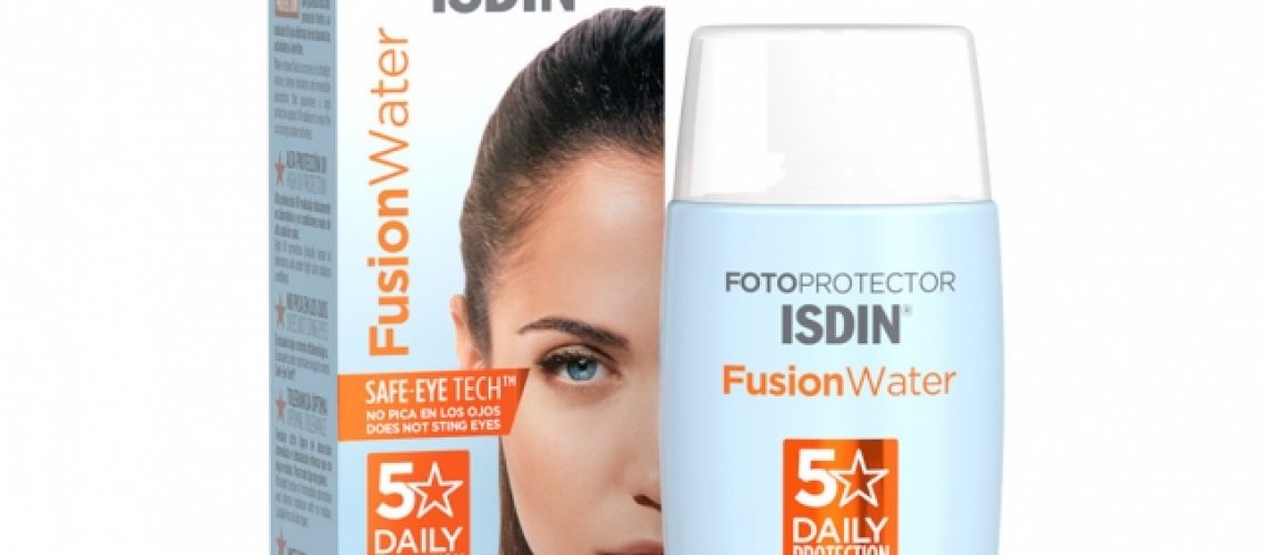 Fotoprotector Fusion Water SPF 50. Isdin